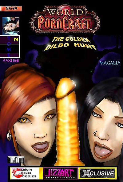 Golden Dildo Hunt- World..